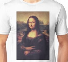 Mona Lisa! SWAG! PEACE! YOLO! Parody Unisex T-Shirt