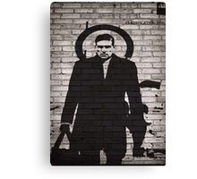 Person of Interest - Reese Plan B Graffiti Canvas Print