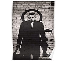Person of Interest - Reese Plan B Graffiti Poster