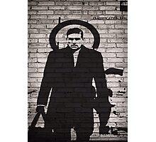 Person of Interest - Reese Plan B Graffiti Photographic Print