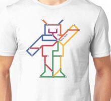 Robot: New York Unisex T-Shirt
