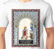 St CASIMIR under STAINED GLASS Unisex T-Shirt