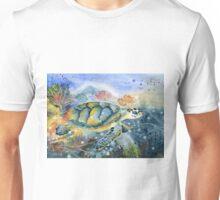 Colorful Sea Turtle Art Unisex T-Shirt