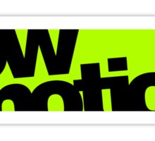 lowmotion (7) Sticker