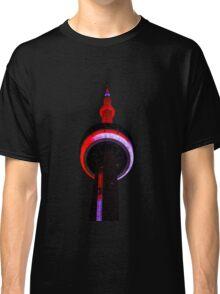 Toronto CN Tower Night Lights Views From The 6 Classic T-Shirt