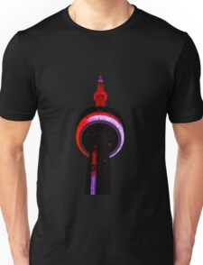Toronto CN Tower Night Lights Views From The 6 Unisex T-Shirt