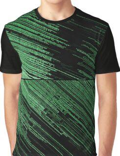 Line Art - The Scratch, green Graphic T-Shirt