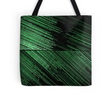 Line Art - The Scratch, green Tote Bag
