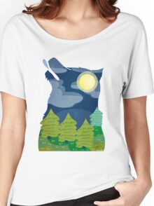 Full Moon Women's Relaxed Fit T-Shirt