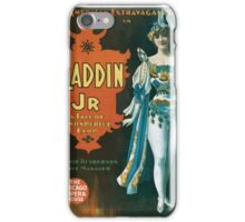 Performing Arts Posters The American Extravaganza Co in Aladdin Jr a tale of a wonderful lamp 0003 iPhone Case/Skin