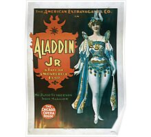 Performing Arts Posters The American Extravaganza Co in Aladdin Jr a tale of a wonderful lamp 0003 Poster