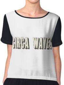 circa waves Chiffon Top