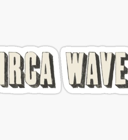 circa waves Sticker