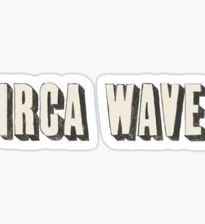 circa waves Sticker