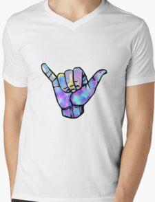 Shaka sign Mens V-Neck T-Shirt