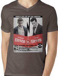 Eleven VS. Eleven Mens V-Neck T-Shirt