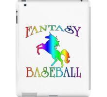 Fantasy Baseball Unicorn iPad Case/Skin