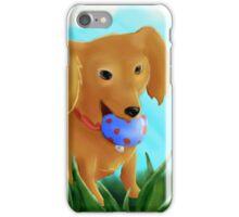 Dachshund Got the Ball iPhone Case/Skin