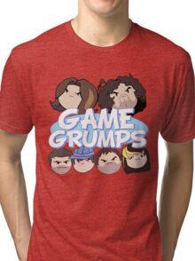 Game Grumps Logo & Grump Heads Tri-blend T-Shirt