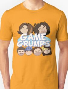 Game Grumps Logo & Grump Heads Unisex T-Shirt