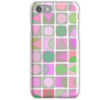 Creative Coding Fuzzy Mosaic Col#2 iPhone Case/Skin