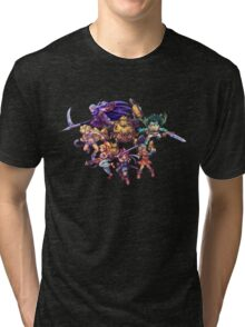 Chrono Trigger - Full Cast Tri-blend T-Shirt