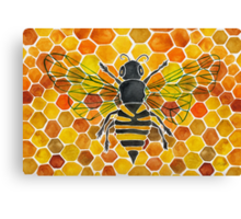 Honeybee Canvas Print