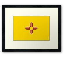 New Mexico State Flag Framed Print