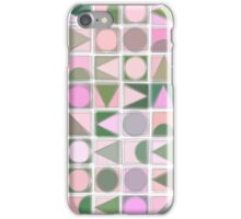 Creative Coding Fuzzy Mosaic Col#3 iPhone Case/Skin