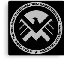 Marvel - S.H.I.E.L.D Logo Canvas Print