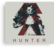 Destiny - Hunter by AronGilli Canvas Print
