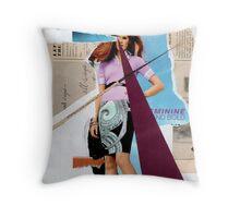 Feminine...bold...buy online Throw Pillow