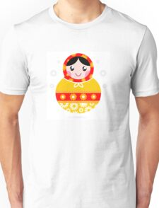 Floral traditional Matroskha - T-shirts and Gifts Unisex T-Shirt