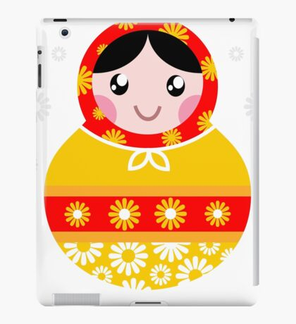 Floral traditional Matroskha - T-shirts and Gifts iPad Case/Skin