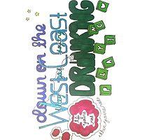 West Coast- Lyrics drawing by drawingsbymaya