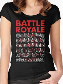 Battle Royale Women's Fitted Scoop T-Shirt