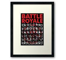 Battle Royale Framed Print
