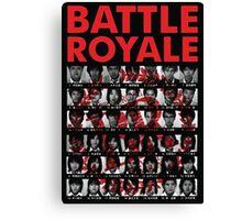 Battle Royale Canvas Print
