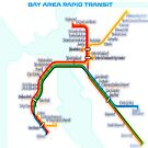 San Francisco BART Map by mrthink