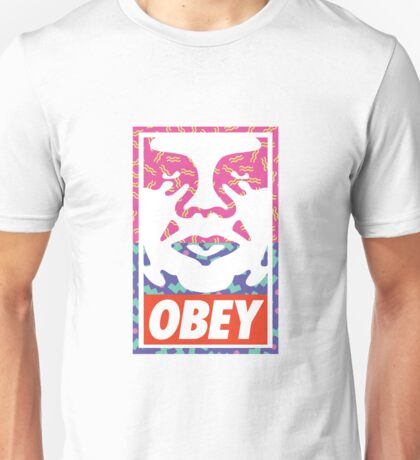 Old School Obey Giant Face Unisex T-Shirt