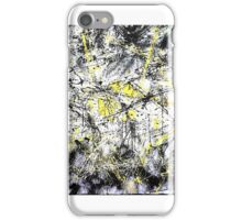 Awesome Yellow/Black Abstract Designs iPhone Case/Skin