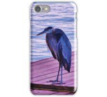 Blue Heron iPhone Case/Skin