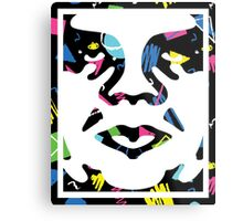 Classic Obey Giant Face Metal Print