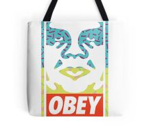90s Retro Obey  Tote Bag