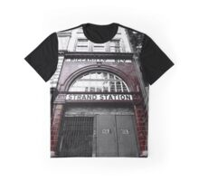 Aldwych Underground Station Graphic T-Shirt