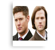 Supernatural - Sam and Dean Winchester Canvas Print