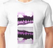 purple wolves Unisex T-Shirt