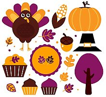 Thanksgiving 2016 Gift Edition for Kids  Photographic Print
