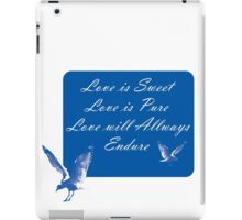 LOVE is SWEET. Stickers, Gifts, and Clothing. iPad Case/Skin