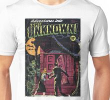 Adventures into the Unknown - Classic Comic Art Unisex T-Shirt